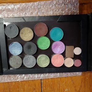 Mac Eyeshadow, Ofra and Mac Pro-palettes